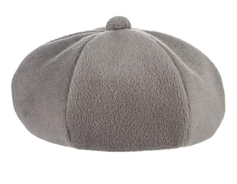 C-Princess 帽子 ベレー帽 パンチング帽 画家帽 キャップ ハット レディース おしゃれ 小顔効果 秋冬 ふわふわ 防寒 無地 カジュアル アウトドア