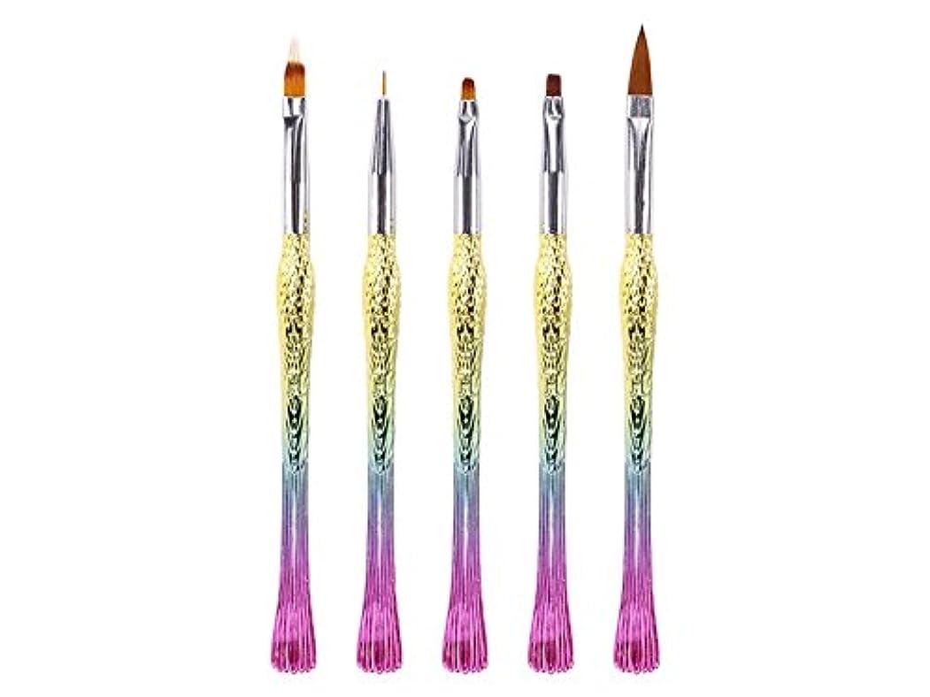 外国人ピカソ湿度Osize ネイルペンは、ペン刻まれたペンフィッシュペン鳥ペンリッチグラデーションペン(カラフル)