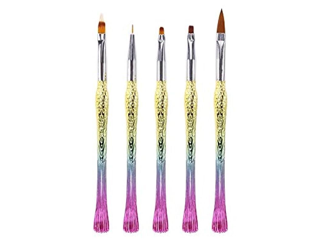 置くためにパックドラゴンドラムOsize ネイルペンは、ペン刻まれたペンフィッシュペン鳥ペンリッチグラデーションペン(カラフル)