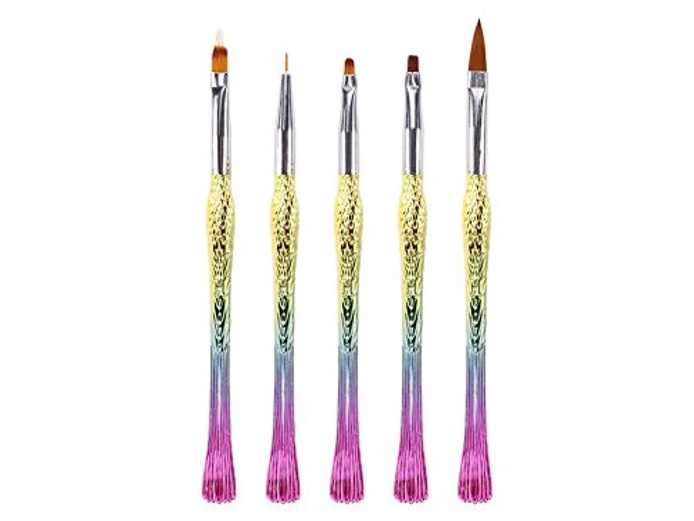 すべき銀河クレアOsize ネイルペンは、ペン刻まれたペンフィッシュペン鳥ペンリッチグラデーションペン(カラフル)