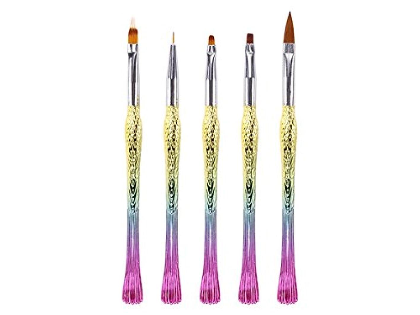 甥かける気づかないOsize ネイルペンは、ペン刻まれたペンフィッシュペン鳥ペンリッチグラデーションペン(カラフル)