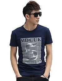 メンズ シャツ Tシャツ アート 芸術 プリント カラー 文字 デザイン 全14パターン 4サイズ
