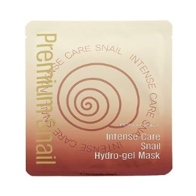 バラバラにするほかに乱雑な[TONYMOLY] Intense Care Snail Hydro Gel Mask 25g x 5ea