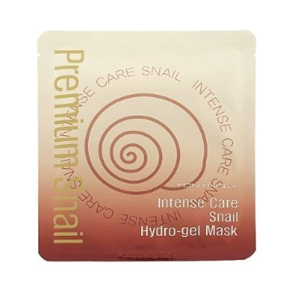 金曜日ひまわり正直[TONYMOLY] Intense Care Snail Hydro Gel Mask 25g x 5ea