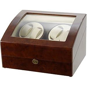 [サンブランド]SUNBRAND ワインダー ワインディングマシーン 4本巻 時計収納(5本収納) GC03-D31