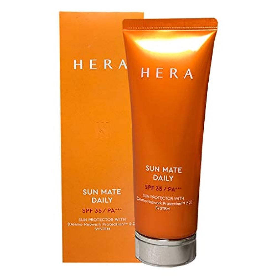 シャワーく致命的ヘラ サンメイト デイリー SPF35PA+++メイクアップベース日焼け止めクリーム/SUN MATE DAILY UVCream