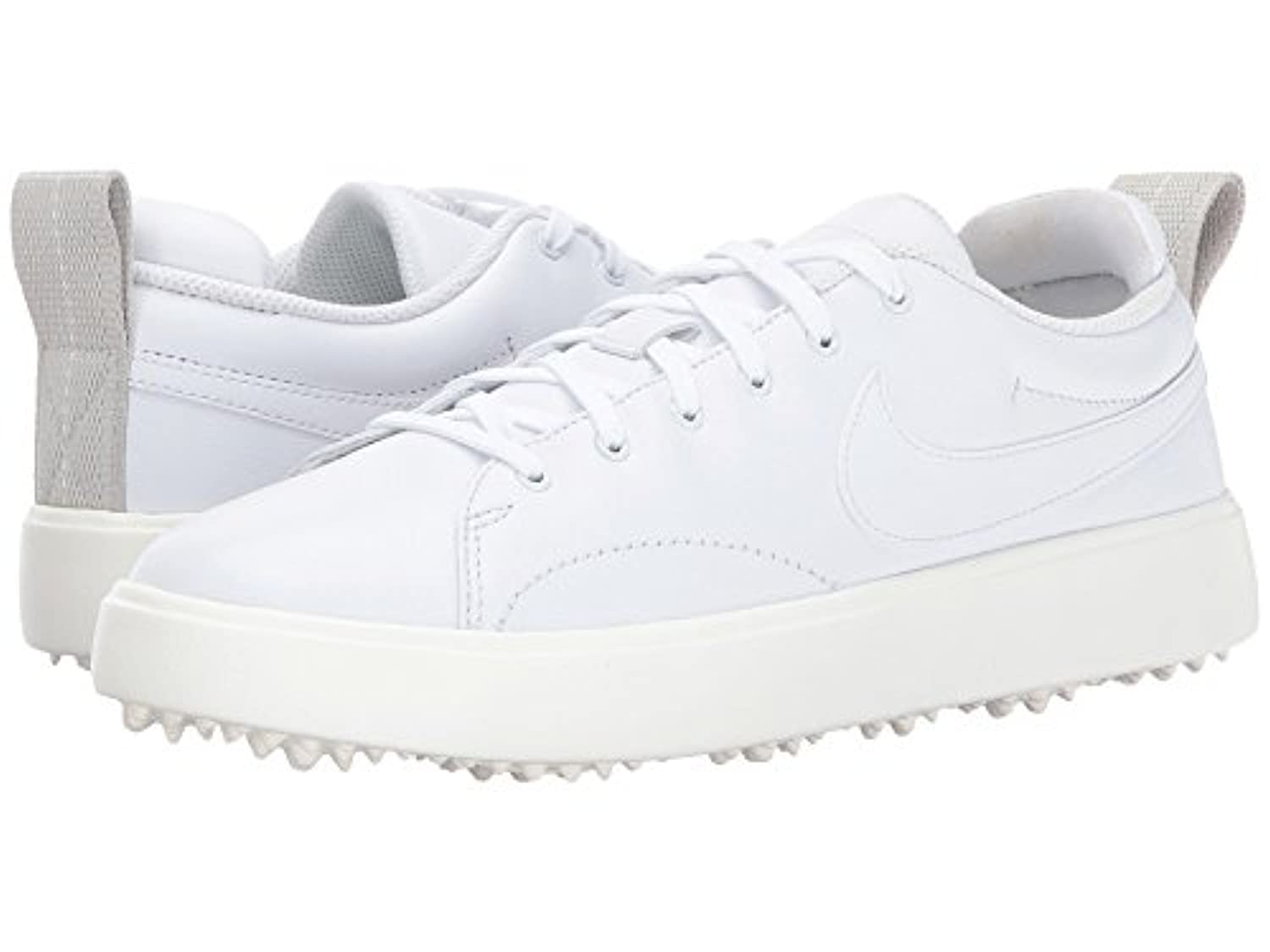 (ナイキ) NIKE レディースゴルフシューズ?靴 Course Classic White/White/Sail/Black 6.5 (23.5cm) B - Medium