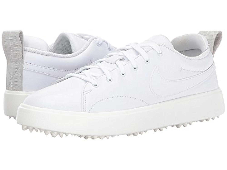 (ナイキ) NIKE レディースゴルフシューズ?靴 Course Classic White/White/Sail/Black 8.5 (25.5cm) B - Medium