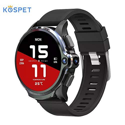 KOSPET Prime 世界最大容量 4G スマートウォッチ FACE IDロック解除 通話/3GB+32GB 1260mAh大容量 1.6