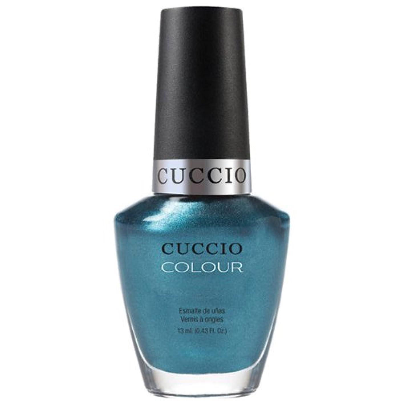ペース定期的に香水Cuccio Colour Gloss Lacquer - Fountains of Versailles - 0.43oz / 13ml