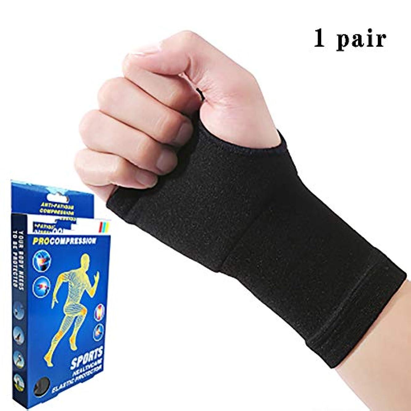 持っている縞模様の保持関節炎グローブ手首のサポート、銅の圧縮リストバンド医師は、高品位の痛みを軽減する手首プロテクター1ペアを開発しました