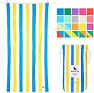 Towel Beach Acessories for Women - and Men, Sandy Toes, Extra Large (200x90cm, 78x35) - Beach Cabana, Swim, Po