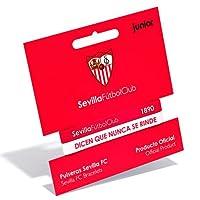 Sevilla FC red white junior embossed bracelet