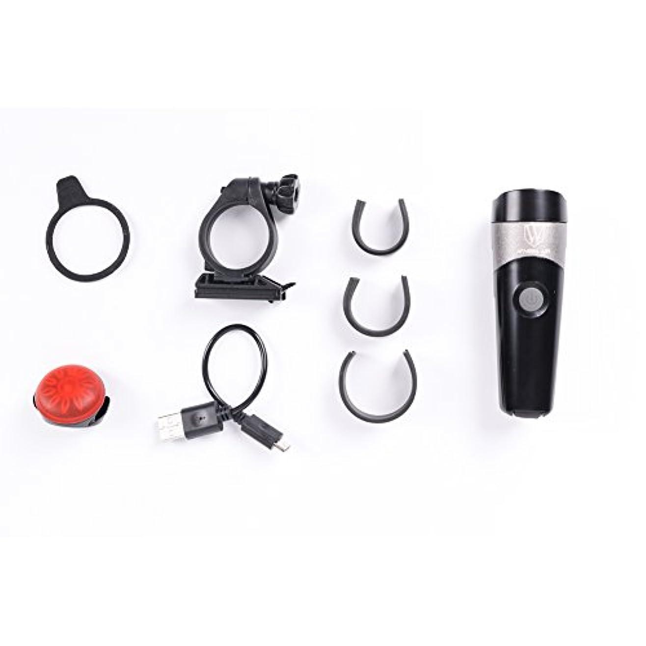 レシピ学ぶ見るExtrbici XC219自転車 テールライト ヘッドライト セット防水機能付 USB充電 ABS/SBS材質