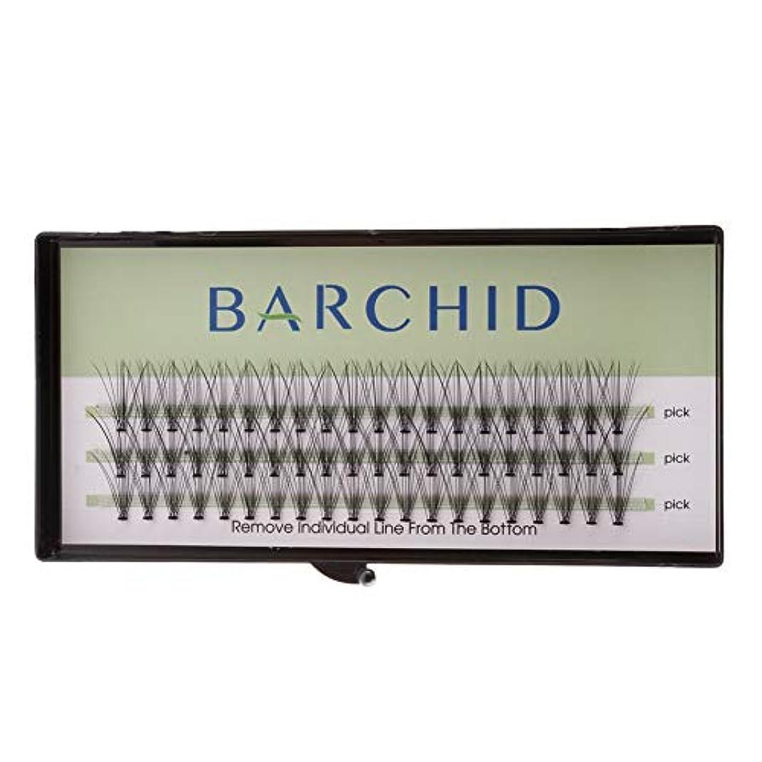 全体出演者悪因子BARCHID 高品質超極細まつげエクステ太さ0.07mm Cカール フレア セルフ用 素材 10本束14mm マツエク