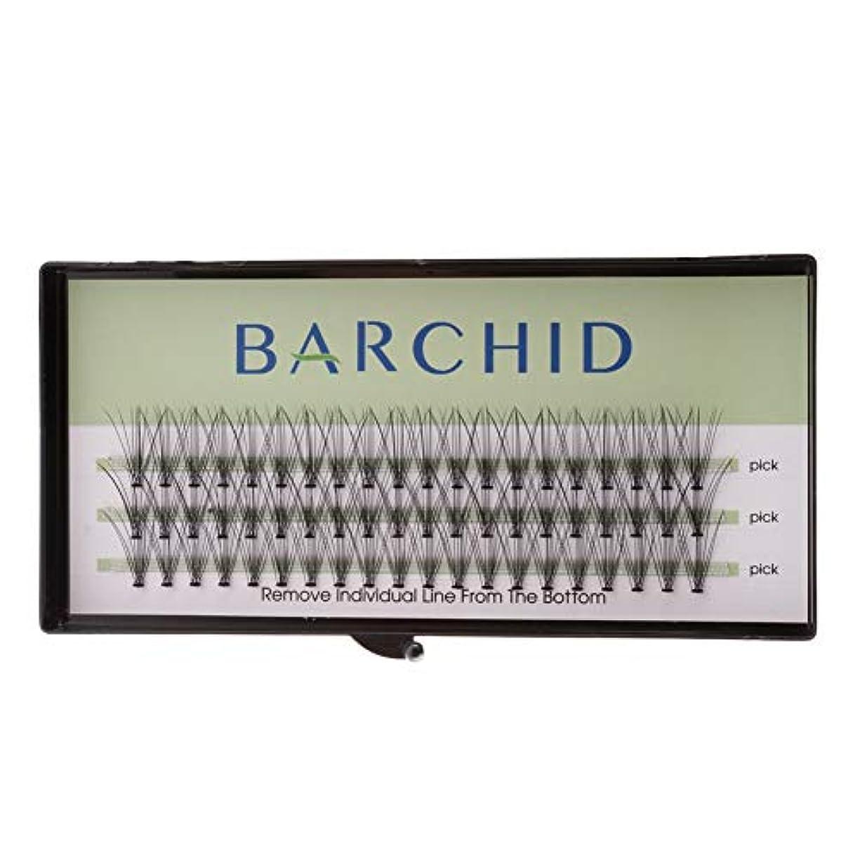 意味する事実上メモBARCHID 高品質超極細まつげエクステ太さ0.07mm Cカール フレア セルフ用 素材 10本束14mm マツエク