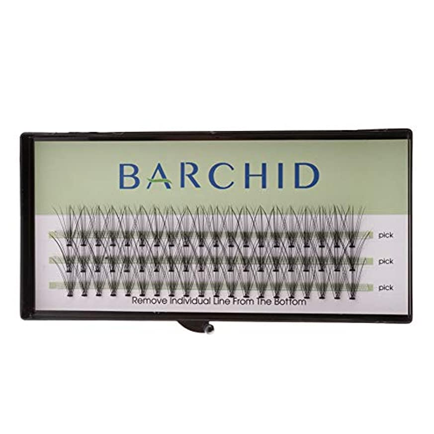 BARCHID 高品質超極細まつげエクステ太さ0.07mm Cカール フレア セルフ用 素材 10本束14mm マツエク