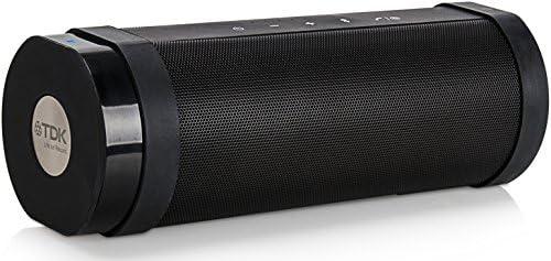 【Amazon.co.jp限定】TDK Life on Record Bluetoothワイヤレススピーカー アウトドアに強い防塵・防滴(IP65相当)・耐衝撃(IK07相当) NFC対応 TREK FLEXシリーズ フラストレーションフリーパッケージ (FFP) ブラック AT-A28BK-FFP