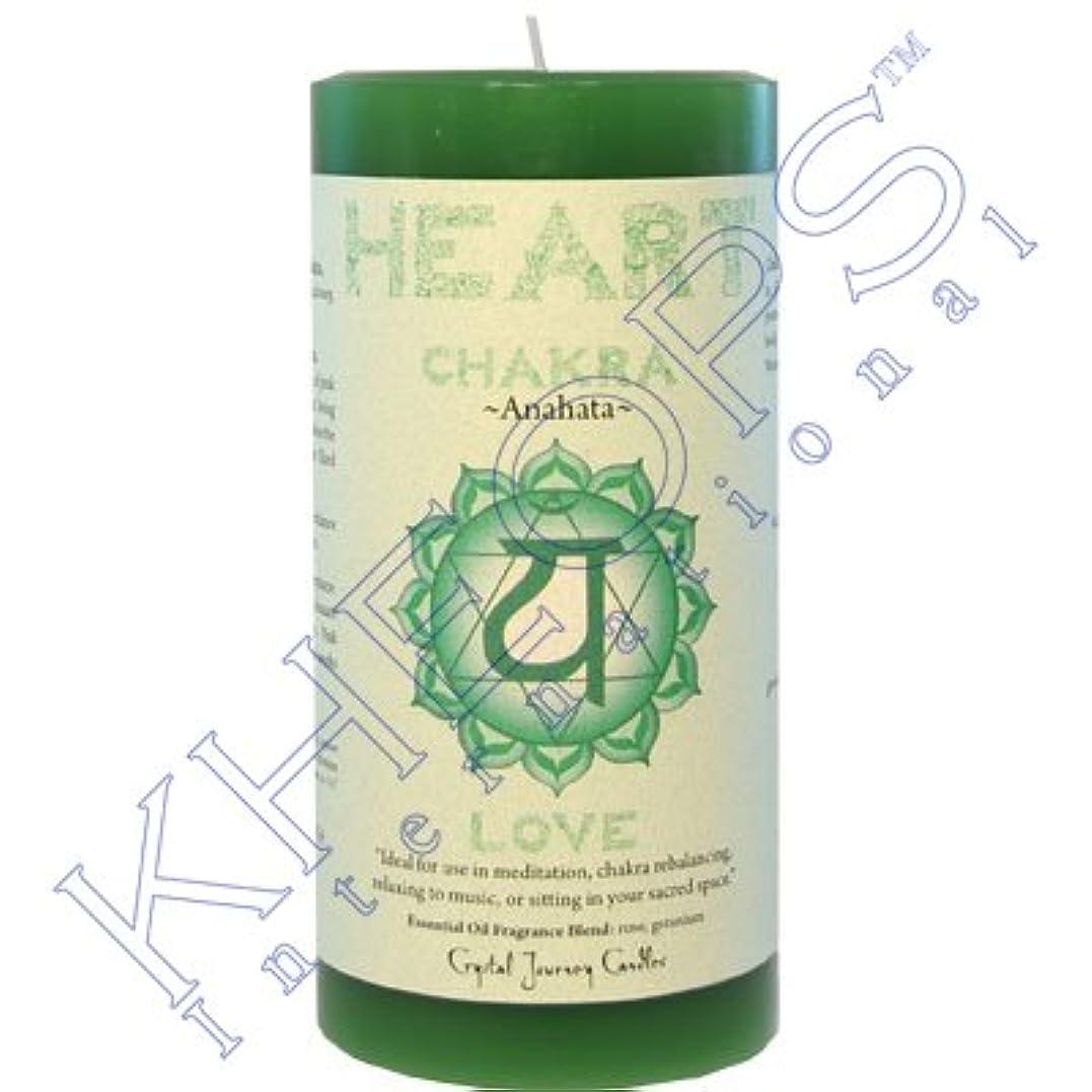 Pillar Chakra Green-Heart Anahata by Treasures Stones Crystals & More [並行輸入品]