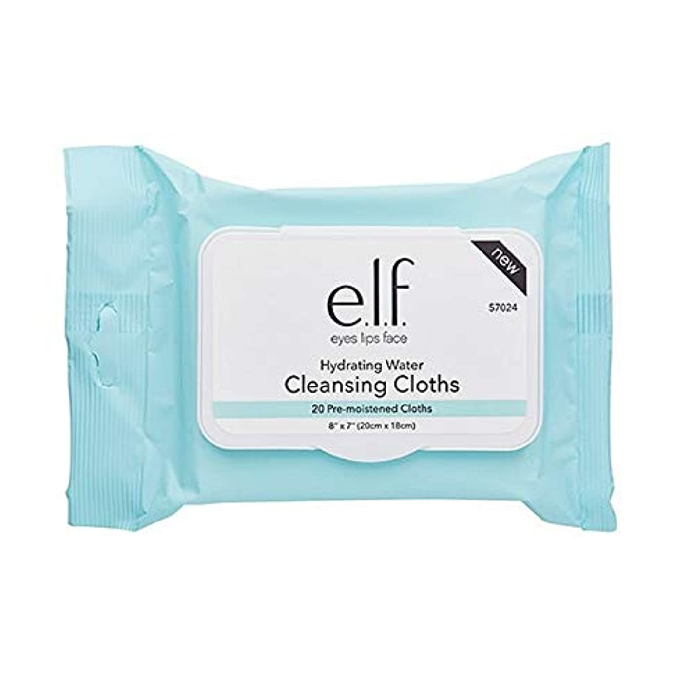 はげ盆地に同意する[Elf ] エルフ。クレンジング布を水和X20 - e.l.f. Hydrating Cleansing Cloths x20 [並行輸入品]