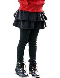 [キュアキュア] スカート 付き 子供用 レギンス パンツ ガールズ キッズ