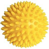 [ノーブランド品] 血液循環促進 緊張緩和 セラピー ボール 6.5cm イエロー