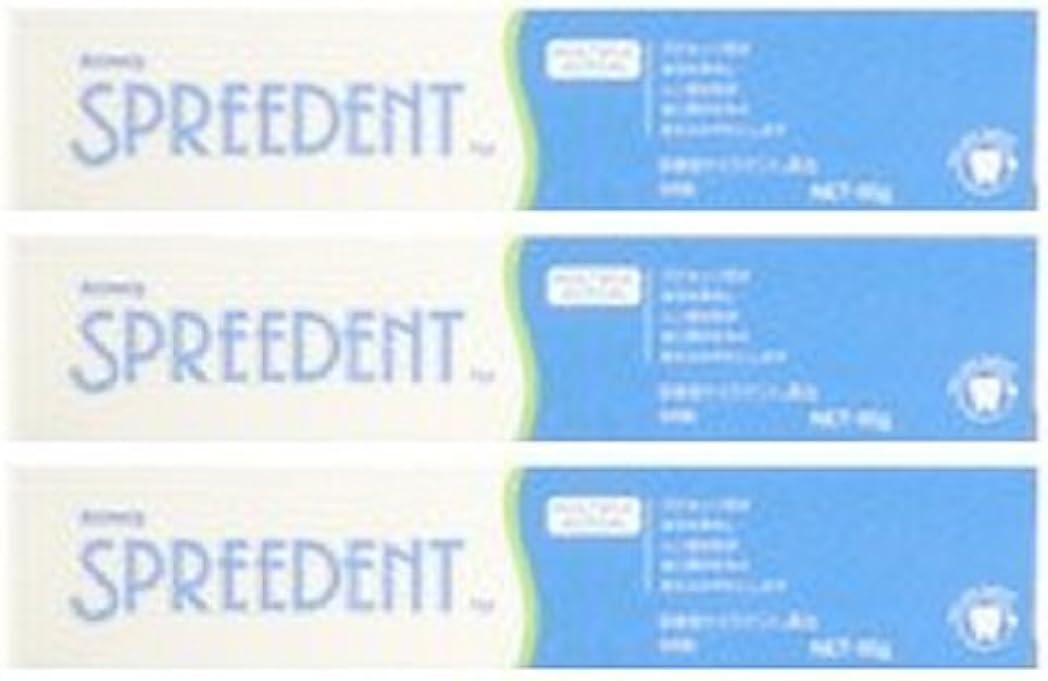 ほめる切断する幻滅するアムウェイ スプリーデント フッ素配合ハミガキ ハンディサイズ1本 (65g) E949J-99【3個セット】