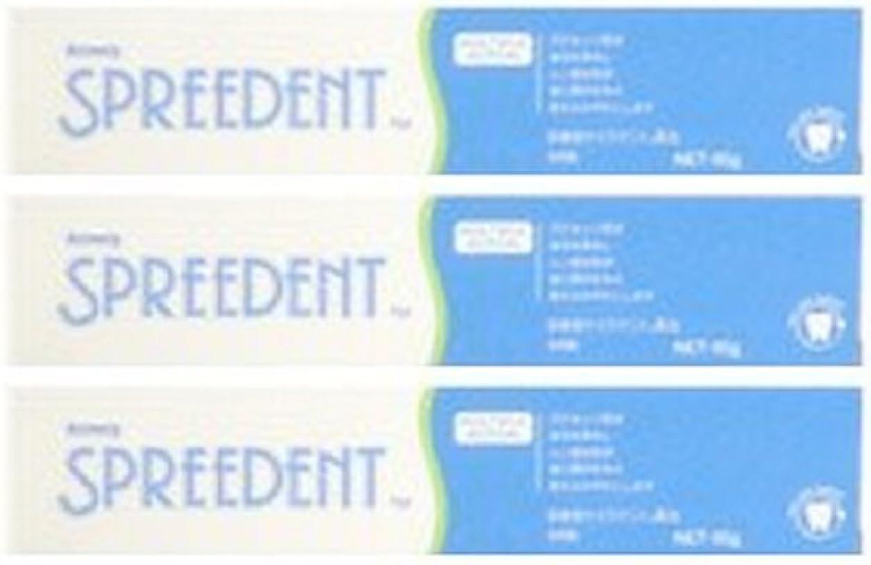 増幅フェード果てしないアムウェイ スプリーデント フッ素配合ハミガキ ハンディサイズ1本 (65g) E949J-99【3個セット】
