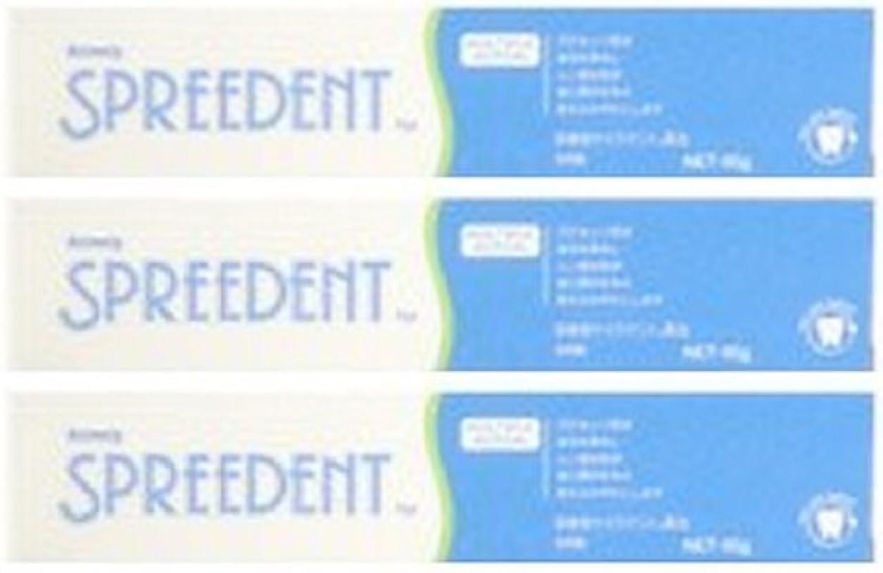 猫背ジェット委任するアムウェイ スプリーデント フッ素配合ハミガキ ハンディサイズ1本 (65g) E949J-99【3個セット】