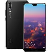 "Huawei P20 EML-L29 128GB 4GB RAM, Dual SIM LTE, 5.8"", Full HD+ Display -Dual Camera 20 MP +12 MP, GSM Unlocked International Model (Black)"