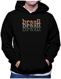 Brazil repeat retro フーディー