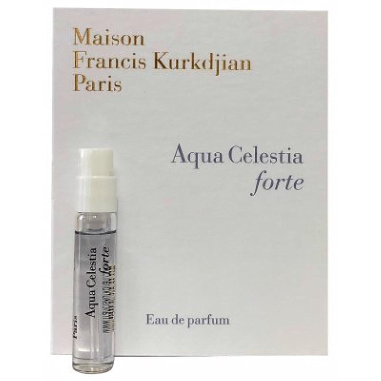 警告する勃起Maison Francis Kurkdjian Aqua Celestia Forte EDP Vial Sample 2ml(メゾン フランシス クルジャン アクア セレスティア フォーテ オードパルファン 2ml)...