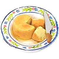 Lovoski 1/12スケール ドールハウス用 ミニチュア 食品 モデル キッチン用品 インテリア 贈り物 全6種類 - チーズケーキ型