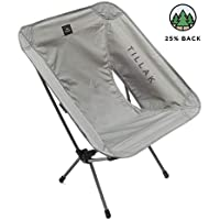 [Tillak] [Tillak キャンプ椅子 Sitka Camp Chair - An Ultralight, Portable, Compact Folding/Collapsible Chair, Perfect for Camping, Lightweight Backpacking and Beach Lounging, with Heavy Duty 300lb Capacity] (並行輸入品)
