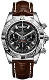 Breitling クロノマット 41 スチールメンズ腕時計 ブラウンベルト AB014012/F554-725P