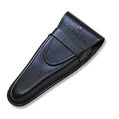 SUWADA つめ切り用本革ケースL ブラック