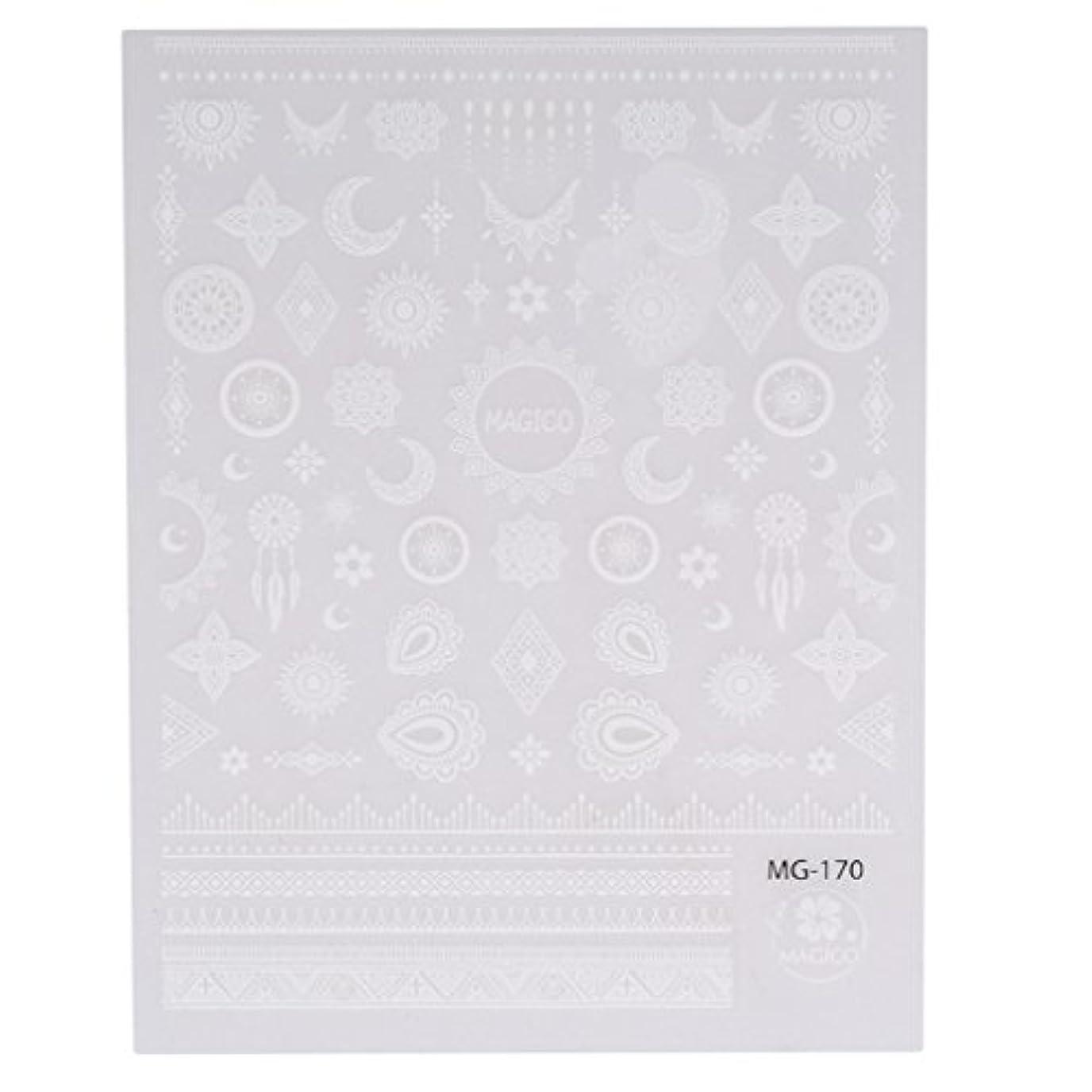 マーチャンダイザー印をつける会話型JIOLK ネイルシール レース ネイルステッカー 星 月 ネイルアート 貼るだけでいい 可愛い ネイル飾り ネイル パーツ アクセサリー