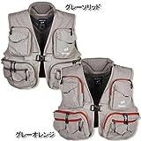 パズデザイン(Pazdesign) オールラウンダー ベスト ZFV-022 グレーソリッド M