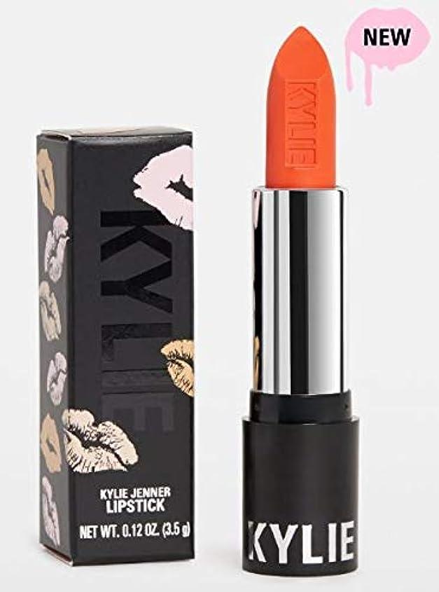 うっかり制限されたアンドリューハリディKylie Cosmetics カイリーコスメティックス Matte Lipstick サマーコレクション マットリップ (TANGERINE)