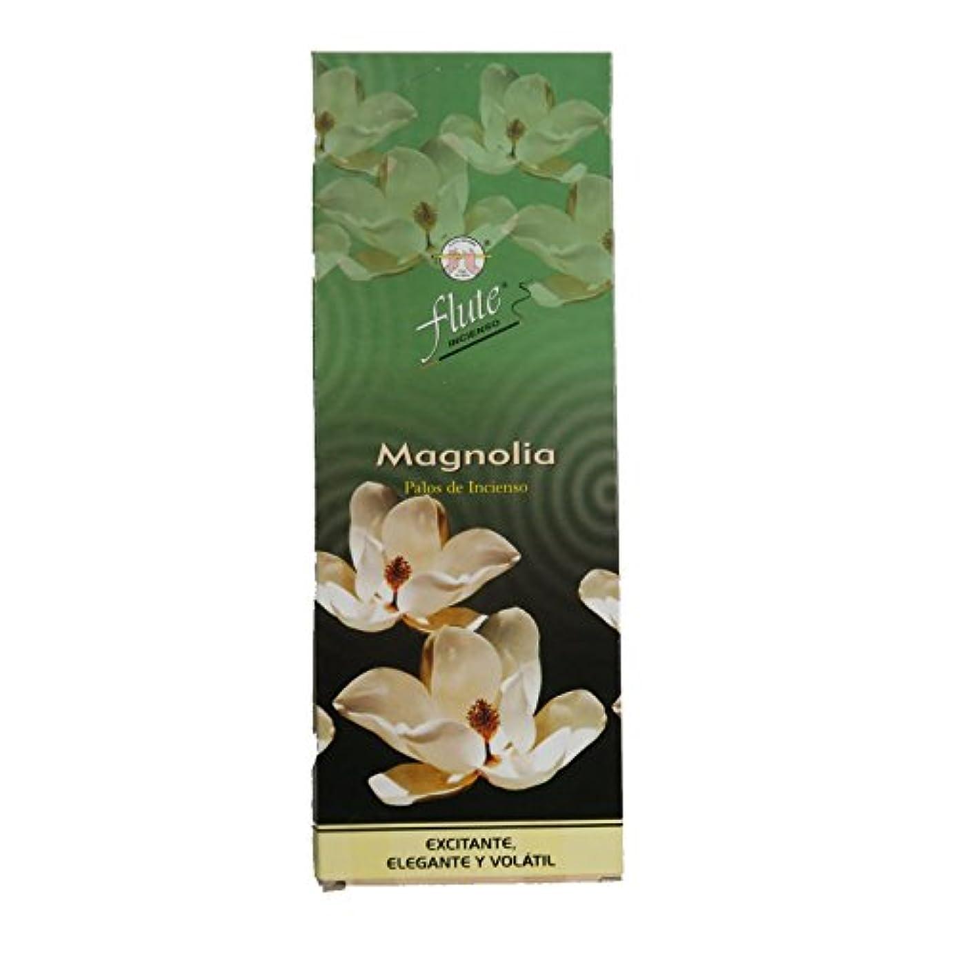 リハーサル存在する樹皮flute社 スティック型インドお香 Magnolia 6箱セット