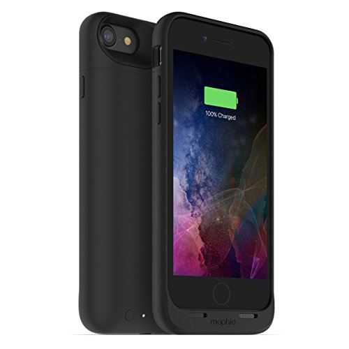 mophie juice pack air for iPhone 7 #x30ef;#x30a4;#x30e4;#x30ec;#x30b9;充電機能付#x304d; #x30d0;#x30c3;#x30c6;#x30ea;#x30fc;#x30b1;#x30fc;#x30b9; #x30d6;#x30e9;#x30c3;#x30af;#x3010;日本正規代理店品#x3011; MOP-PH-000145