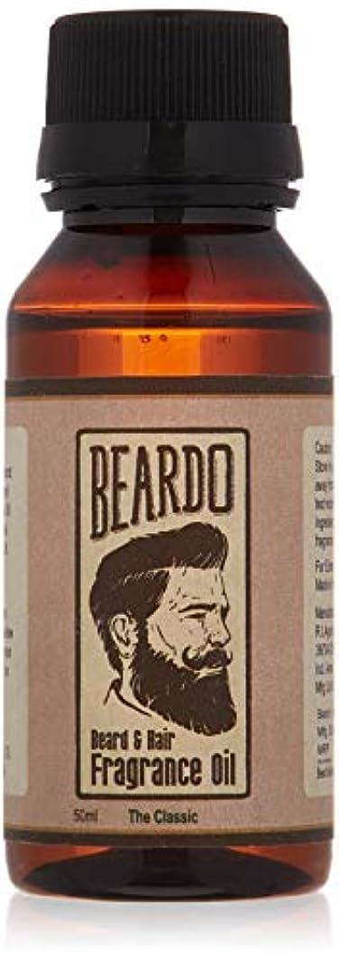 出身地もう一度カップBeardo Beard and Hair Fragrance Oil (The Classic) 50ml With Natural Ingredients - Nutmeg, Vanilla and Lemon oil