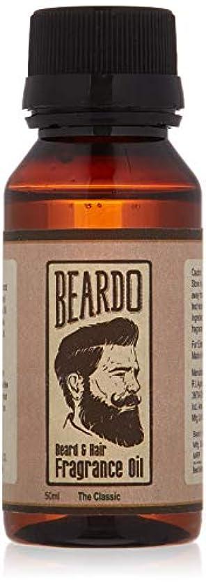 計器クアッガ本当のことを言うとBeardo Beard and Hair Fragrance Oil (The Classic) 50ml With Natural Ingredients - Nutmeg, Vanilla and Lemon oil