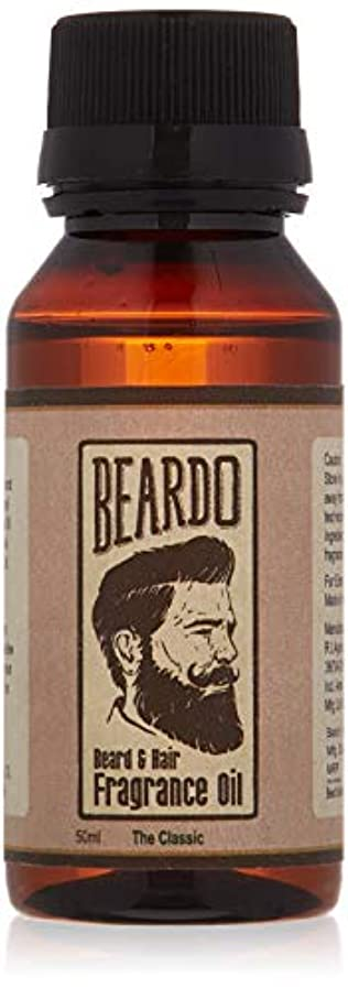 病気ヒギンズドットBeardo Beard and Hair Fragrance Oil (The Classic) 50ml With Natural Ingredients - Nutmeg, Vanilla and Lemon oil