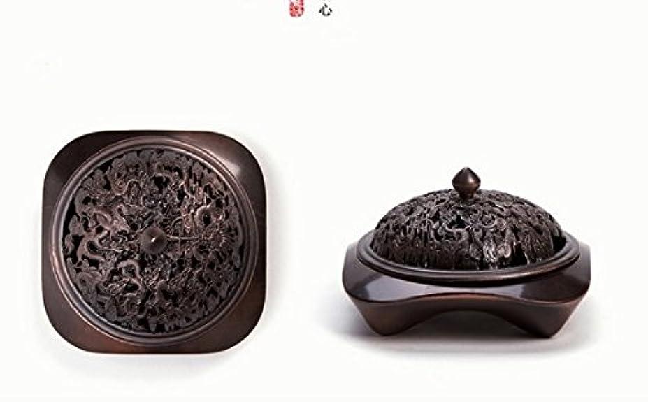 発掘占めるポゴスティックジャンプ【Lenni】アロマ香炉 タワー香つき 纯铜工芸カバー 沉香熏香炉