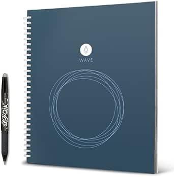 手書きメモをスマホに保存 簡単にデジタル化できるノート Rocketbook Wave [並行輸入品]