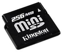 Kingston flash memory card - 256 MB - miniSD ( SDM/256 ) by Kingston Digital, Inc. [並行輸入品]