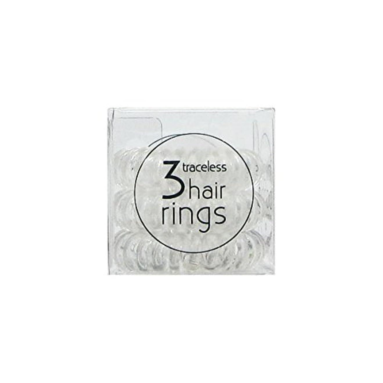 中庭付き添い人水曜日Invisibobble Original Hair Ring Crystal Clear [並行輸入品]