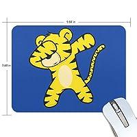 ユキオ(UKIO) マウスパッド おしゃれ 防水 滑り止め かわいい 使いやすい 北欧 トラ Hippop ダンス 女性 リストレスト マウス PCアクセサリ 男性