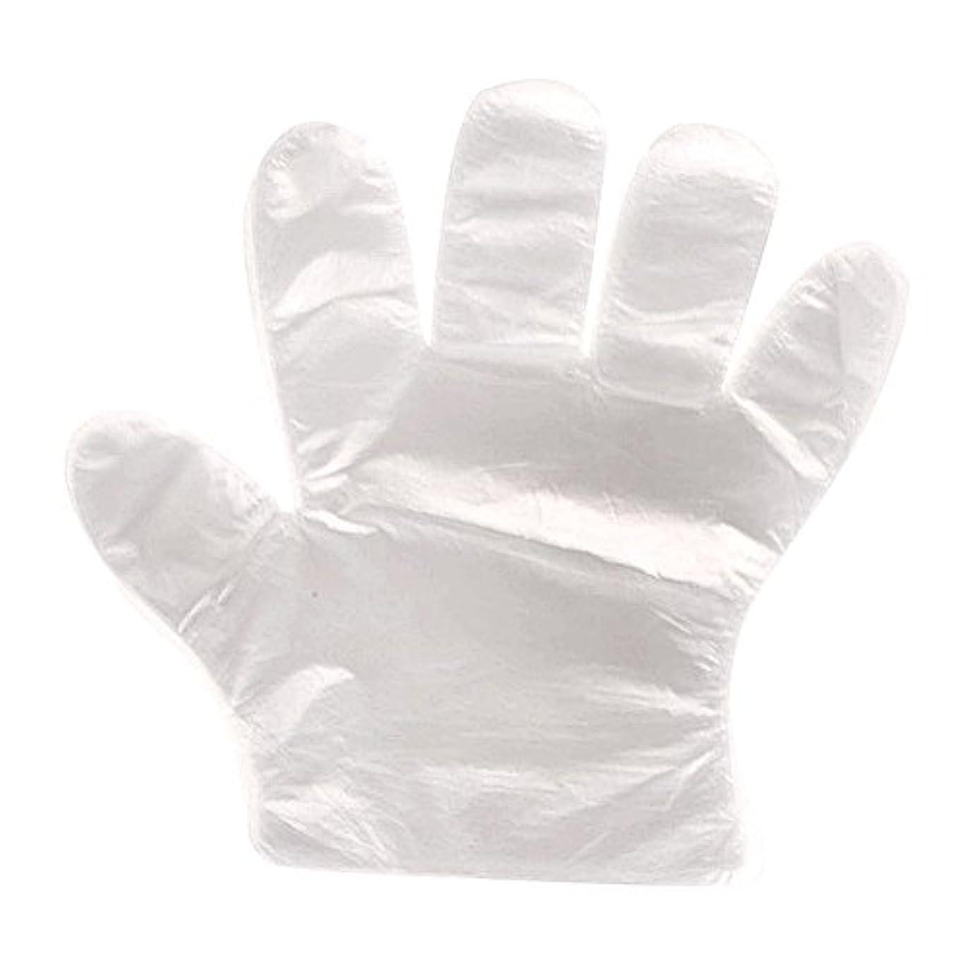デンプシー覗く商人Beito 極薄 ビニール手袋 使い捨て手袋 透明手袋 プラスチック手袋 100枚入り